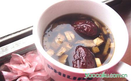 女贞子枣茶