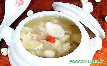 淡菜山萸肉猪瘦肉汤