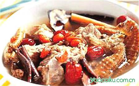 海马熟地炖羊肉