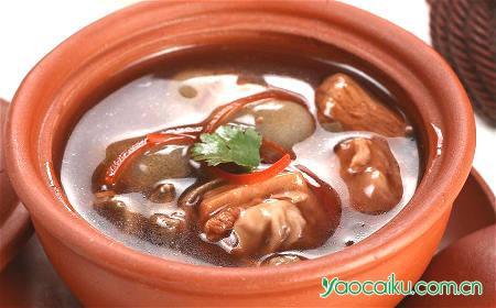 桑螵蛸芡实鸡肾汤