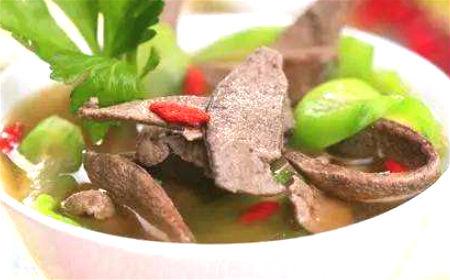 沙苑猪肝汤