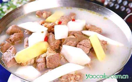 羊肉补肾壮阳汤